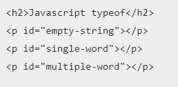 JavaScript typeof Operator Tutorial