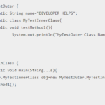 Java Static Class Tutorial