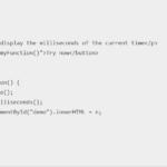 Javascript date format