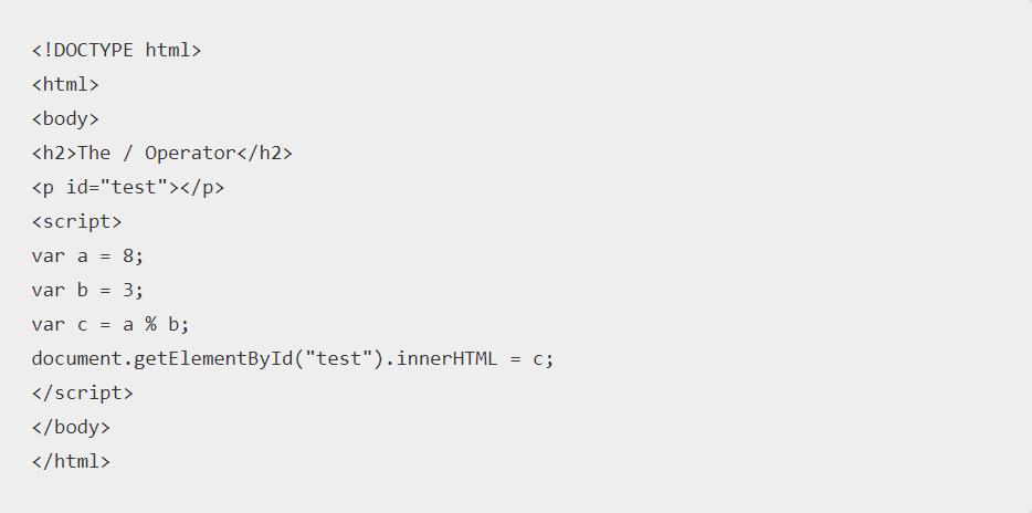 Javascript Modulo