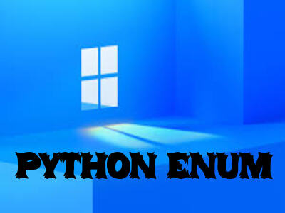 PYTHON ENUM